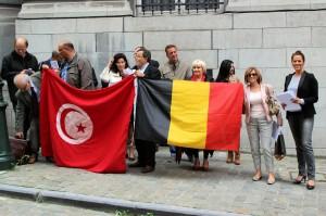 Rassemblement soutien Tunisie 0409